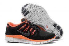 on sale 3a605 5e63e especial nike Free 5.0 + para hombre antifur Negro Naran salida Orange  Sneakers, Sneakers Nike