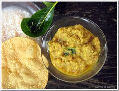 Chena Koottan / Elephant Yam in a Ground Coconut Sauce More