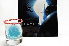 Get creative in celebrating the #Oscars with this Anti-Gravity Ice Sphere #Cocktail Recipe  Blue #Vodka Snowball!!