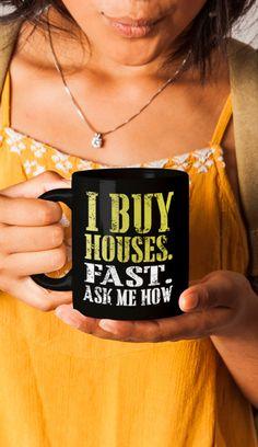 Real Estate Coffee Mug | Real Estate Mug | Real Estate Mugs | Real Estate Logo | Real Estate Gift | Real Estate Agent | Successful Agent