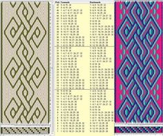 32 cards, 2 / 4 colors, repeats every 16 rows