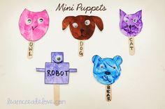 { Mini Puppets }