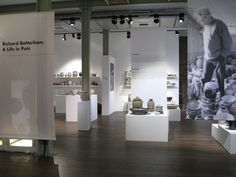 Richard Batterham: A Life in Pots on display in the gallery