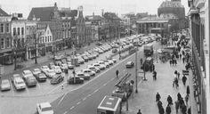 Groningen<br />De stad Groningen: Vismarkt 1968