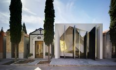 Church? Tomb? Gothic nightclub? This building by Clavel Arquitectos is something of a mystery, but it's amazing.
