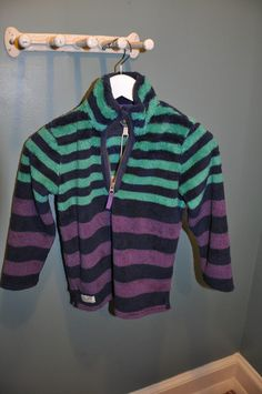 Picture of Purple Stripe Fleece By Joules  $ 44.00