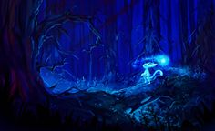 Ori and the Blind Forest fan art by Mia-san21 on @DeviantArt