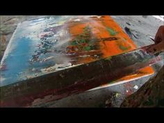 Instructional: Learning 12 acrylic abstract techniques (HD) by Jan van Oort