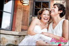 Colorado civil union - lesbian wedding photographed by Alison Rose Photography