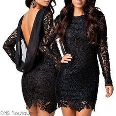 Vestido Sexy em renda - Ref.125 — DMS Boutique