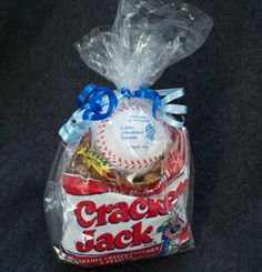 Father's Day, baseball snack/gift