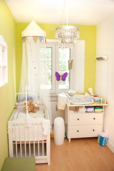 Create a beautiful green nursery for your baby using these environmentally friendly tips.