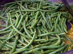 Spicy Green Beans with Garlic from FoodNetwork.com