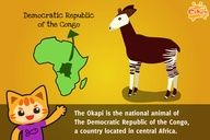 Fun Facts for #Kids #Education 35 – Okapi http://www.cikgu.tv/fun-time/fun-facts-for-kids-35-okapi/