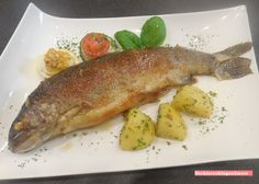 fischi`s cooking and more....: ybbstaler forelle müllerin....