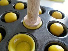 La cucina degli Angeli: Tartelette di frolla salata di Luca Montersino con il pastry pusher