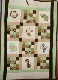 Another jungle quilt