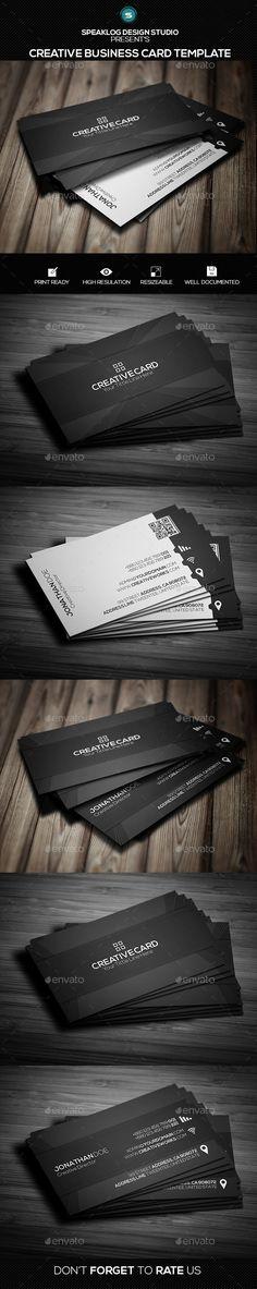 CreativeCard Business Card Design - Creative Business Cards
