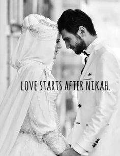 couple, hijab, love, muslim, wedding, First Set on Favim.com