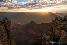 Sunrise warms the Grand Canyon from Mather Point on the South Rim. Ryan McGinley, Your Take National Geographic, Great Places, Monument Valley, Landscape Photography, Grand Canyon, Natural Beauty, Sunrise, America