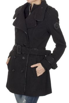 Ed Hardy Woman's Long Coat ehjw7042 (X-Small) Ed Hardy,http://www.amazon.com/dp/B00BI7N1Y6/ref=cm_sw_r_pi_dp_pAvMsb0CAPV4TTJD Stay Warm, Outerwear Women, Vest Outfits, Vests, Dark Brown, Vest Jacket, Spandex, Wool, Christian Audigier