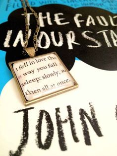 """TFIOS line """"I fell in love the way you fall asleep: slowly, and then all at once"""" was inspired by Hemingway."""