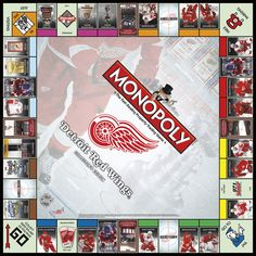 MONOPOLY: Detroit Red Wings™ Collector's Edition