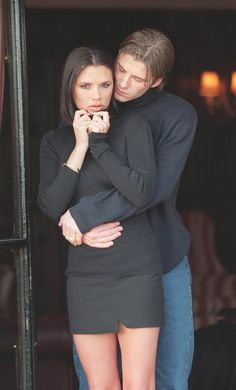 David Beckham And Victoria Beckham Back In The Day