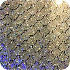 Silver Mermaid Scale | Diy Leather Earrings, Mermaid Scales, Leather Diy 5E5