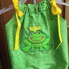 Frog Princess, Applique Designs