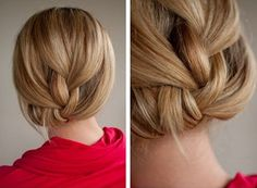 blonde, braid, brunette, cute, hair tutorial, cute hair, pretty hair, hairstyles, hair ideas