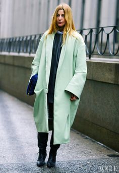 At 3.1 Phillip Lim  Acne Studios coat #Ada Kokosar