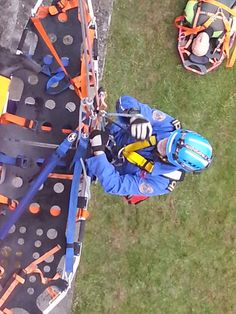 Part 2 of Rope Rescue Trainers Course,  I spent a lot of time 'Airborne' today... :)