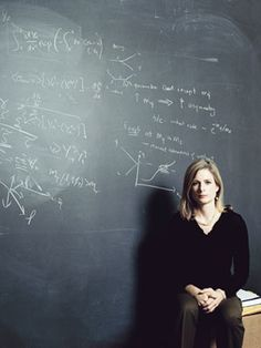 Entrepreneurial Female Icon - Lisa Randall, Harvard, American theoretical physicist and a leading expert on particle physics and cosmology. She works on several of the competing models of string theory in the quest to explain the fabric of the universe.