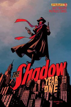 Preview: The Shadow: Year One #5, Cover - Comic Book Resources