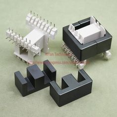 2sets/lot EE42-20 PC40 Ferrite Magnetic Core and 8 Pins + 8 Pins Side Entry Plastic Bobbin Customize Voltage Transformer #women, #men, #hats, #watches, #belts, #fashion, #style