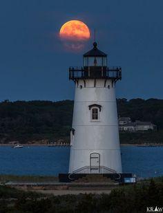 Edgartown Lighthouse.  Martha's Vineyard Island