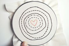 a heart in tree rings by wildolive, via Flickr