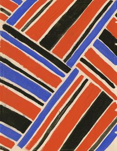 A series of original textile designs by Sonia Delaunay are on view at Les Arts Décoratifs in Paris, through 3 July Sonia Delaunay, Robert Delaunay, Motifs Textiles, Textile Patterns, Textile Design, Print Patterns, Floral Patterns, Surface Pattern Design, Pattern Art