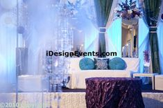 moss wall backdrop entry drape with chandelier gatsby design