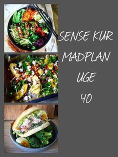 Sense kuren Madplan uge 40 | Gastrosita Eating Well, I Foods, Food Porn, Good Food, Paleo, Dessert Recipes, Food And Drink, Health Fitness, Tasty