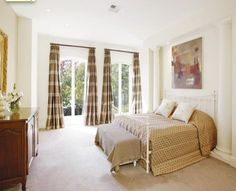Bedroom curtains - by Candlewick Interior designers Melbourne