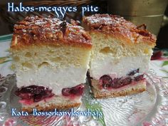 Habos-meggyes pite (Gluténmentesen is)