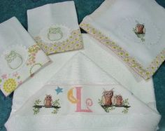 Kit de toalhas Corujice de Mãe