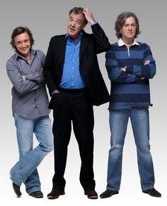 Top Gear!!! Jeremy Clarkson, James May, Richard Hammond, The Stig.