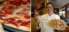 Salvatore's Spikes a Staple Meal, Creating a Fabulous Alcoholic Pizza #pizza trendhunter.com