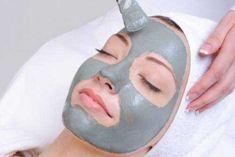 Máscara de argila verde