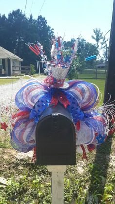 Memorial Day/4th of July/Labor Day 2015 mailbox flare!
