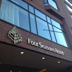 Four Seasons Boston!  @Four Seasons Hotel Boston