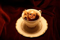 Travesty in a Teacup. $95.00, via Etsy.